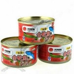 Food Tin Cans for Tuna