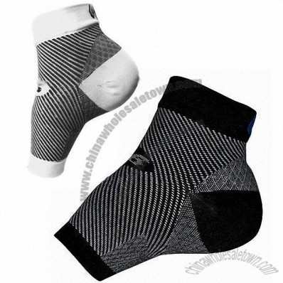 Foot Compression Sleeve, Made of Nylon and Spandex