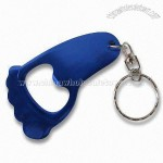 Foot Design EVA Keychain