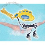 Foot Shape Swimming Radio