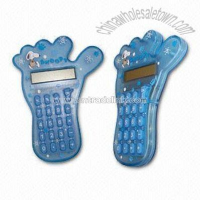 Foot Shaped Desktop Calculator