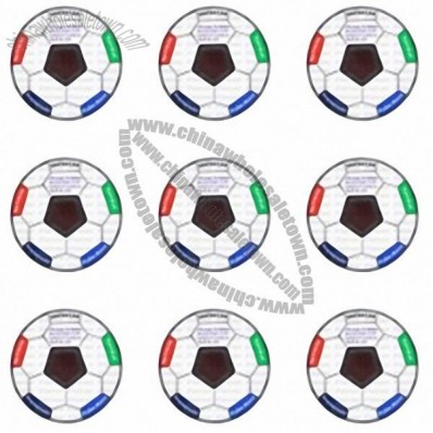 Football / Soccer Shape Emotion Stress Cards