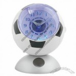 Football Alarm Clock With Touch LED Light