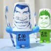 Football Boy Souvenir Toothbrush Holder and Cup Set