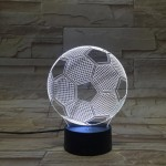Football Colorful three-dimensional visual Lights
