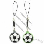 Football Design Enamel Fans Cheering Hot Mobile Phone Straps