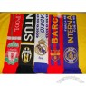 Football Fans Scarf With Team Logo Heat Transfer Imprint