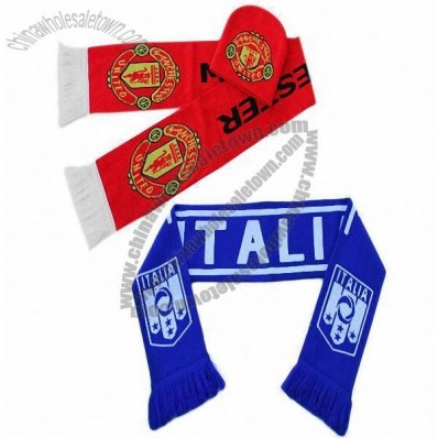 Football Fans Scarf with Hat