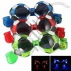 Football Flashing LED Glasses Sunglasses Party Favor