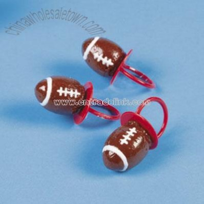 Football Frosted Ring Suckers
