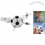 Football Plastic Sports Referee Finger Coach Whistle White