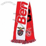 Football Scarf with Woven Effects