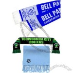 Football Scarves Acrylic Woven Scarves