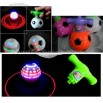 Football Spinning Top Toy Gyro Color Flashing Light Music