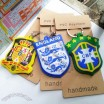 Football World Cup National Team Jersey Logo Keychain