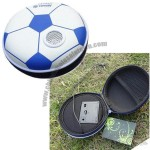 Football-shaped EVA Bag, Built-in Speaker