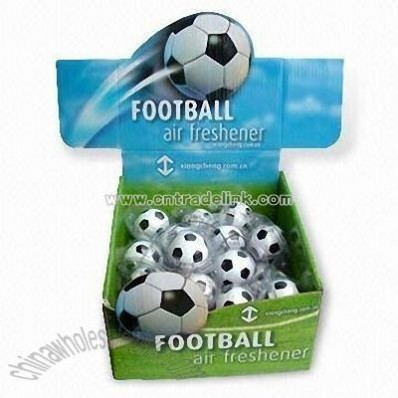 Football-shaped Hanging Car Air Fresheners