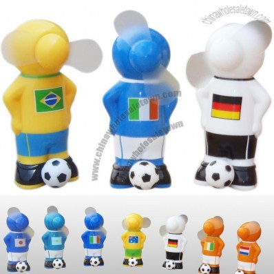 Footballer Shaped Mini Fan