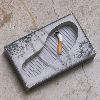 Footprint Ashtray