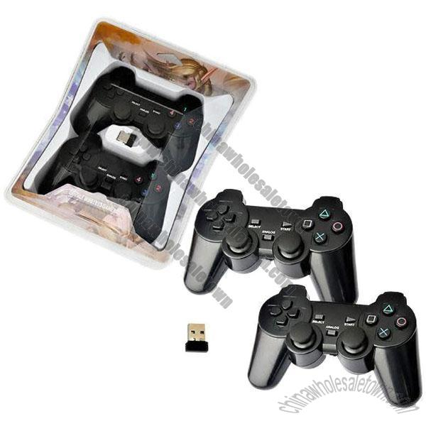 For PC double wireless 2 G gamepad/game controller/joypad