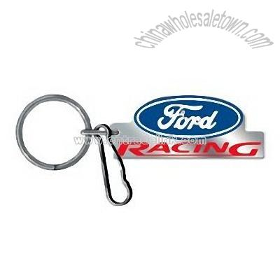Ford Racing Keychain Ford Racing Enamel Key Chain