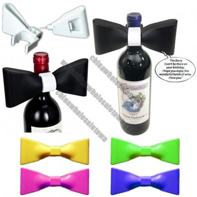 Formal Expressions Wine Corkscrew Bow Tie Bottle Opener