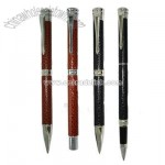 Fountain Pen Sets with Leather Finishing and Twist Action
