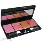 Four Color Blusher with Mirror