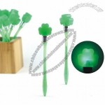 Four Leaf Clover Light up Pen