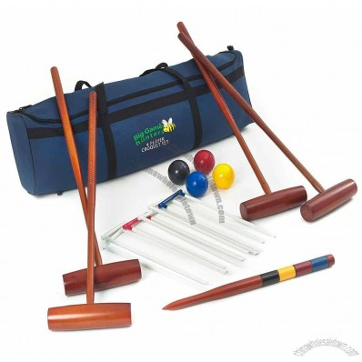 Four Player Croquet Set