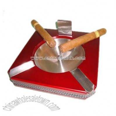 Four cigar ashtray