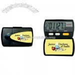 Four function pedometer