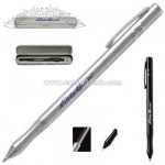 Four in one laser pointer with PDA stylus and pen combo in stylish metal case