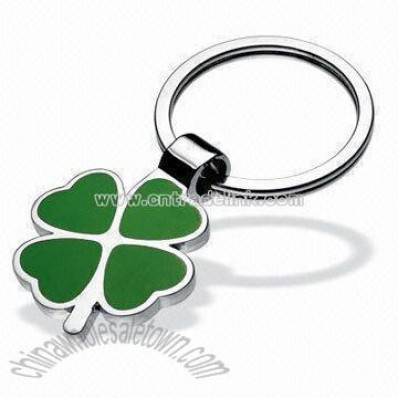 Four-leaf Clover Shaped Classic Metal Keychain