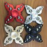 Four leaves and 12 beads Butterfly Fidget Spinner