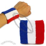 France Fans Cotton Wristband