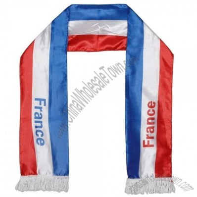 France Soccer Fan Scarf