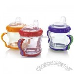 Free 2 Handle Cup No Spill Cup with Spout