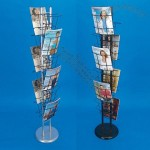 Free-standing brochure holder stand
