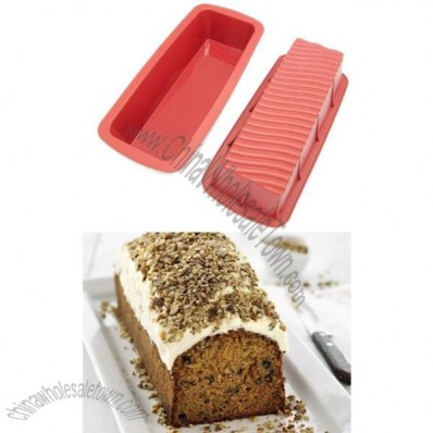 Freshware 12-1/2-Inch Silicone Loaf Pan