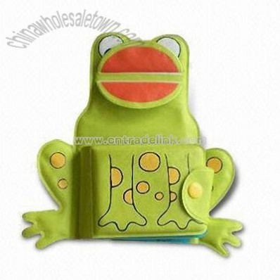 Frog Bath Reading Book Toy
