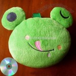 Frog Toy CD Bag
