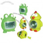 Frog and Chick Talking Clock