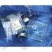 Frosted Glass Shell & Starfish Coaster Set