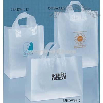 Plastic Bags  on Plastic Shopping Bag  Wholesale China Frosted Plastic Shopping Bag