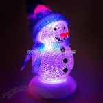 Frosty LED Snowman Christmas Ornament