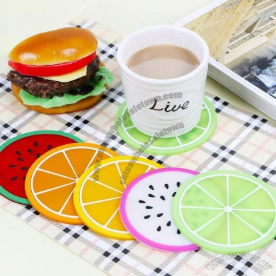 Fruit Silicone Coaster