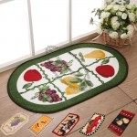 Fruit Vegetable Style Kitchen Mat