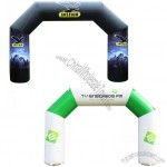 Full Color 20' Indoor/Outdoor Custom Inflatable Arch Display Kit