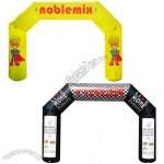 Full Color 25' Indoor/Outdoor Custom Inflatable Arch Display Kit